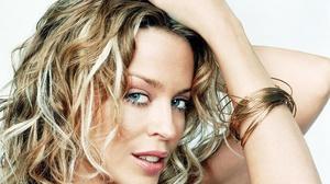 Australian Blonde Blue Eyes Face Kylie Minogue Singer 2287x1915 Wallpaper