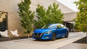 Blue Car Car Compact Car Nissan Nissan Sentra 2800x1743 Wallpaper