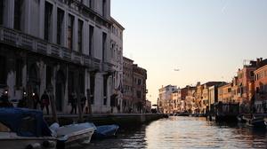 Venice Sunset Italy River 5184x3456 Wallpaper