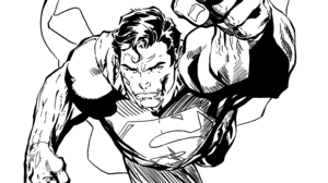 Dc Comics Sketch Superman 3840x2160 Wallpaper