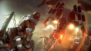 Killzone Shadow Fall Video Game Art Science Fiction Vehicle Video Games 1600x900 Wallpaper