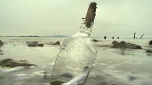 Bottle Message 2560x1600 wallpaper