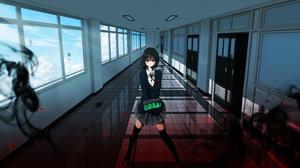 School Uniform Schoolgirl School Shadow Broom 1500x844 Wallpaper