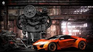 Car Vehicle Benoit Fraylon Fenyr Supersport Gears Colored Wheels 1920x1178 wallpaper