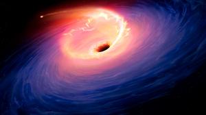 Black Holes Galaxy Andromeda Space Stars Planet Nebula Fire Hole Universe 6000x4050 Wallpaper