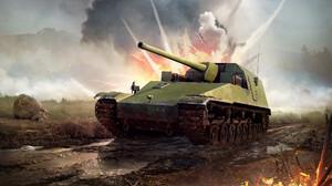 Tank War Thunder 1920x1173 wallpaper