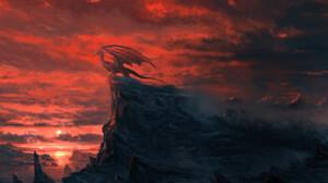 Artwork Fantasy Art Dragon 1669x1276 Wallpaper
