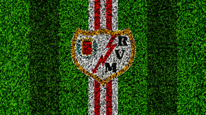 Emblem Logo Rayo Vallecano Soccer 3840x2400 Wallpaper