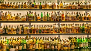 Bottle Alcohol 2500x1402 Wallpaper