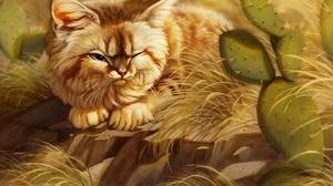 Fantasy Cat 1920x1559 Wallpaper