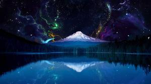Mountain Reflection 1920x1080 Wallpaper