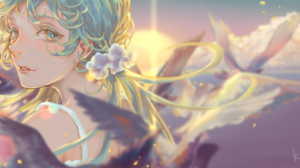 Hatsune Miku Sunshine 5094x2480 Wallpaper