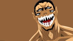 Face Gotou Parasyte The Maxim Minimalist Monster Original Anime Parasyte The Maxim Smile Teeth Vecto 16063x8504 Wallpaper