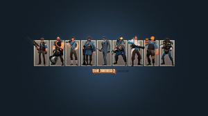 Team Fortress 2 Sniper Team Fortress Heavy Team Fortress Scout Team Fortress Soldier Team Fortress S 1280x1024 Wallpaper