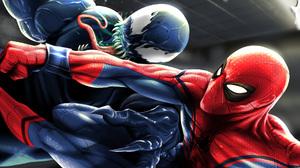 Spider Man Venom 1920x1080 Wallpaper