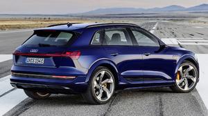 Audi E Tron S Blue Car Car Crossover Car Luxury Car Mid Size Car Suv 1920x1080 Wallpaper
