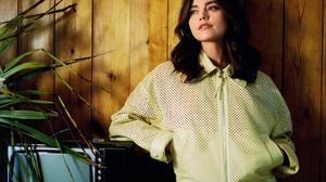 Jenna Louise Coleman Women Actress Brunette Long Hair Dark Hair 1669x2080 wallpaper