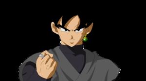 Black Goku 3464x1949 wallpaper