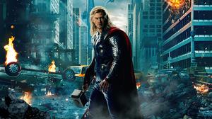 Avengers Chris Hemsworth Thor 5120x2880 Wallpaper