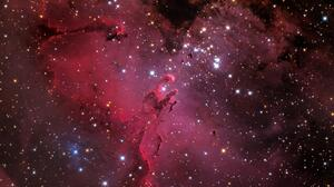 Eagle Nebula Nebula Stars 3840x2160 Wallpaper