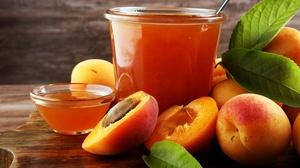 Apricot Fruit Jam 3000x2000 Wallpaper
