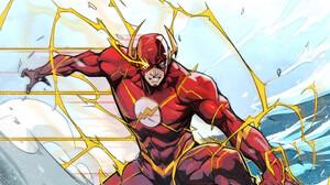 Comic Art Superhero Artwork The Flash DC Comics Flash 976x1500 Wallpaper