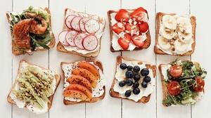 Food Toast 2560x1682 wallpaper