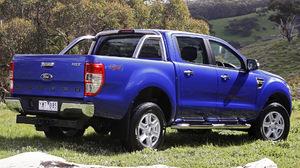 Ford Ranger Xlt 4 Door Truck Pickup Blue Car Car 1920x1080 Wallpaper