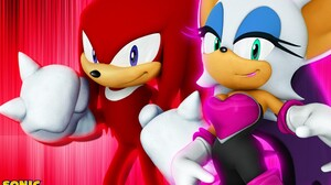 Knuckles The Echidna Rouge The Bat 1920x1200 wallpaper