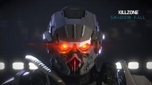 Killzone Killzone Shadow Fall Video Games Glowing Eyes Video Game Art 1920x1200 Wallpaper