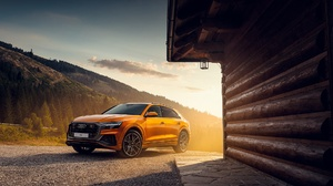Audi Audi Q8 Car Luxury Car Orange Car Suv 1920x1200 Wallpaper