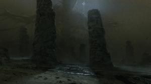 Dark Fantasy Monster 4000x1800 Wallpaper