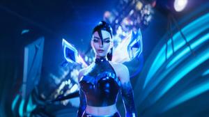 K Pop K Da Kai 039 Sa League Of Legends League Of Legends Woman 5120x2160 Wallpaper