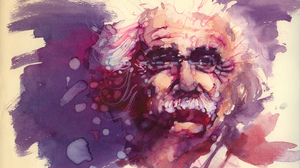 Albert Einstein Painting Watercolor 2048x1448 wallpaper
