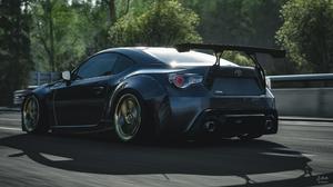 Forza Horizon 4 Toyota GT 86 Sports Car Black Cars Video Games Turn 10 Studios Car Vehicle Racing 4000x2250 Wallpaper