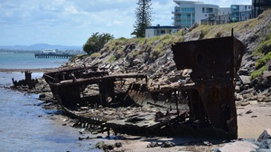 Australia Beach Coast Rust Wreck 1920x1200 Wallpaper
