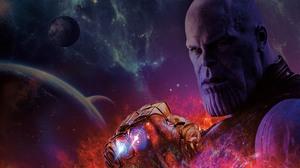 Avengers Infinity War Infinity Gauntlet Josh Brolin Thanos 7680x4320 Wallpaper