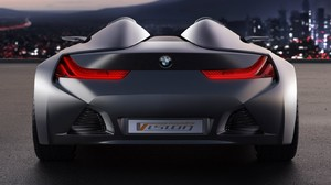 Vehicle Car Muscle Cars BMW Vision 1366x853 Wallpaper