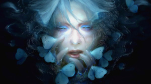 Fantasy Butterfly Face 1600x1200 Wallpaper
