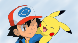 Ash Ketchum Boy Pikachu Pokemon 3840x2160 Wallpaper