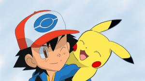 Ash Ketchum Boy Pikachu Pokemon 3840x2160 wallpaper