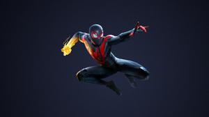 Spider Man Miles Morales Video Games Digital Marvel Comics 3840x2160 Wallpaper