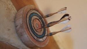 Darts Dartboard Wood Pastel 6000x4000 Wallpaper