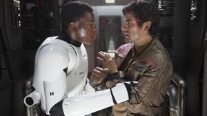 Star Wars Episode Vii The Force Awakens Star Wars Oscar Isaac Poe Dameron John Boyega Finn Star Wars 5760x3840 Wallpaper