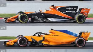 McLaren F1 Formula 1 Collage Race Cars Vehicle Sport Sports Car 1800x2700 Wallpaper