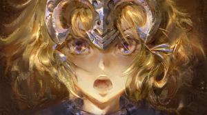 Blonde Blue Eyes Fate Grand Order Girl Jeanne D 039 Arc Fate Series Ruler Fate Grand Order Short Hai 1920x1080 Wallpaper
