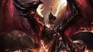 Deathwing World Of Warcraft World Of Warcraft 2560x1600 Wallpaper