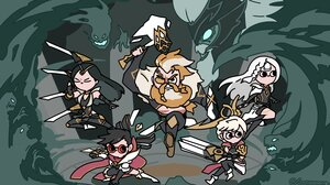 League Of Legends Riot Games Irelia League Of Legends Vayne League Of Legends Olaf League Of Legends 3000x1688 Wallpaper