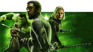 Avengers Black Panther Marvel Comics Black Widow Hulk Okoye Marvel Comics 2411x1356 Wallpaper
