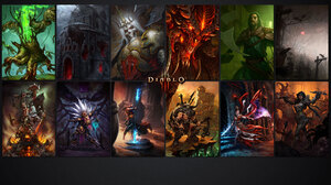 Barbarian Diablo Iii Demon Hunter Diablo Iii Diablo Diablo Iii Monk Diablo Iii Witch Doctor Diablo I 2560x1440 Wallpaper